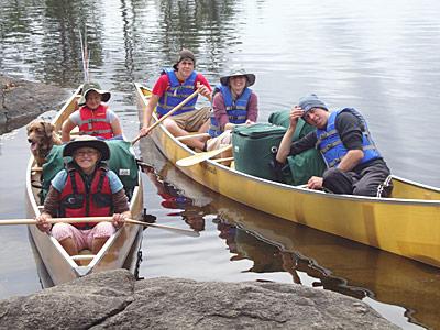 canoe-kids