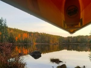 guided fall boundary waters canoe trip